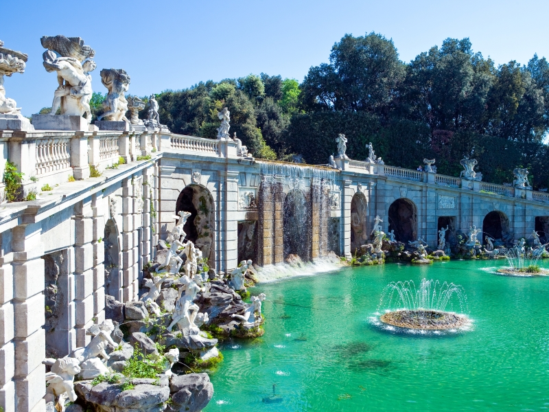 Royal Palace of Caserta fountains