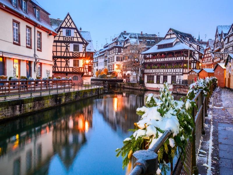 Christmas Rhine