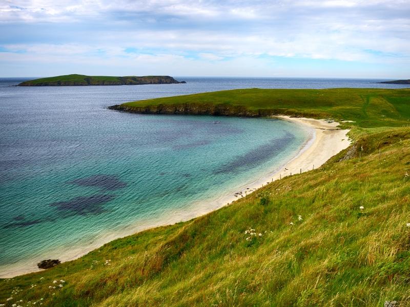 St Ninian's Beach, Shetland.
