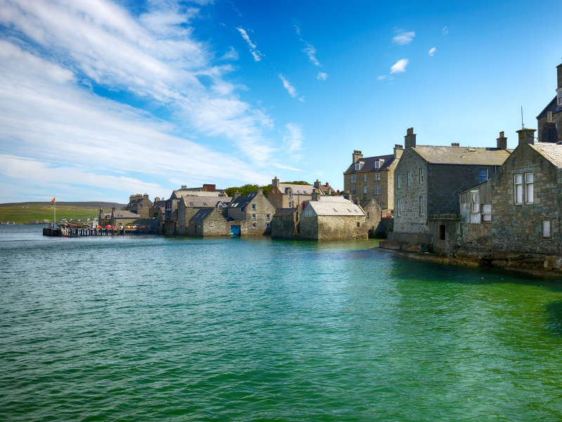 Lerwick, Shetland.