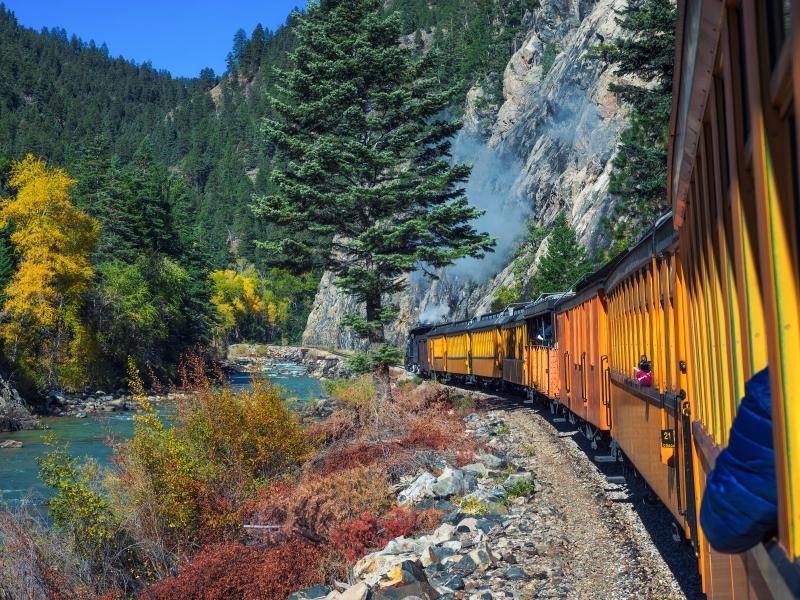 Durango Silverton Railroad heritage railway