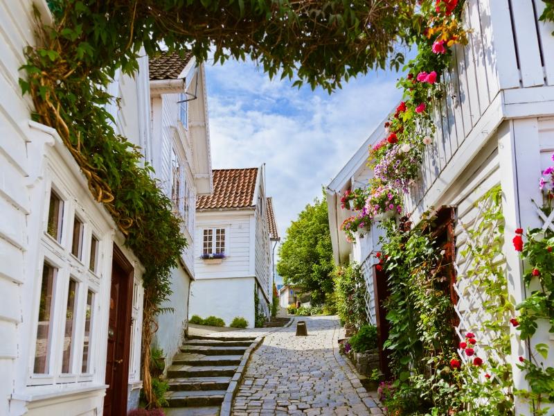 Stavanger Old Town.