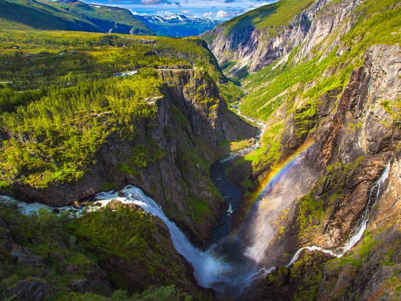 Voringfossen waterfall.