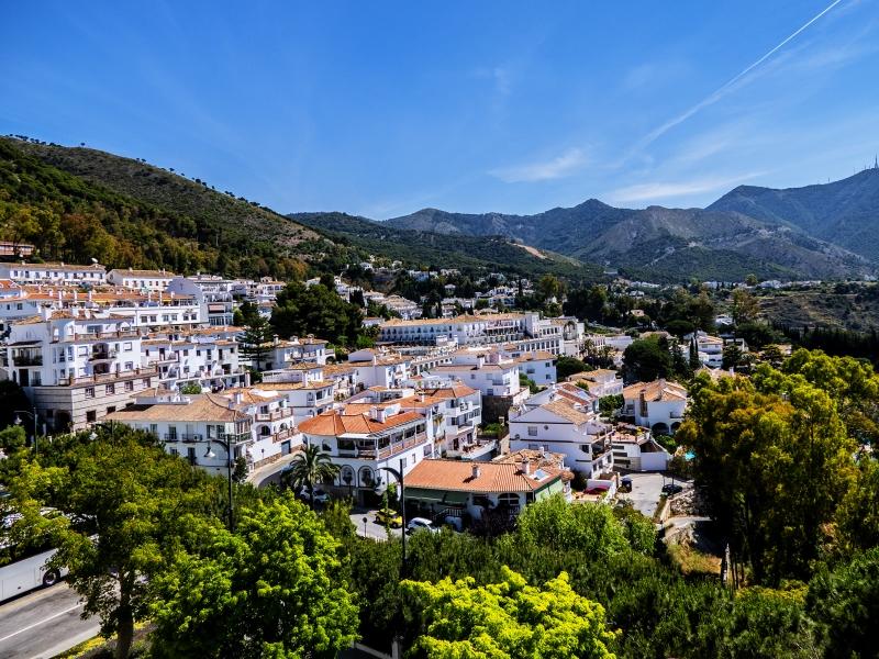 The Sierra de Mijas