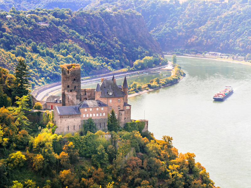 Katz Castle, Rhine Gorge