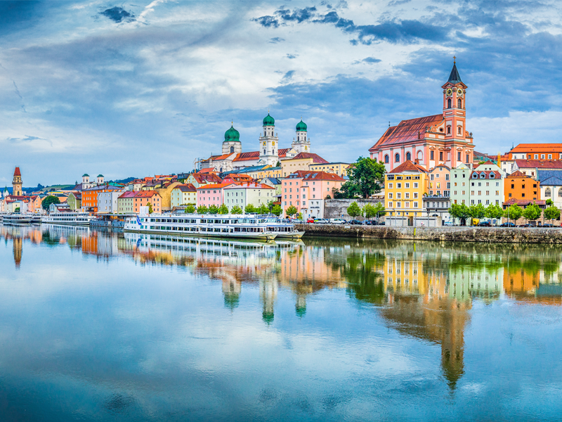 River cruising Europe - Passau