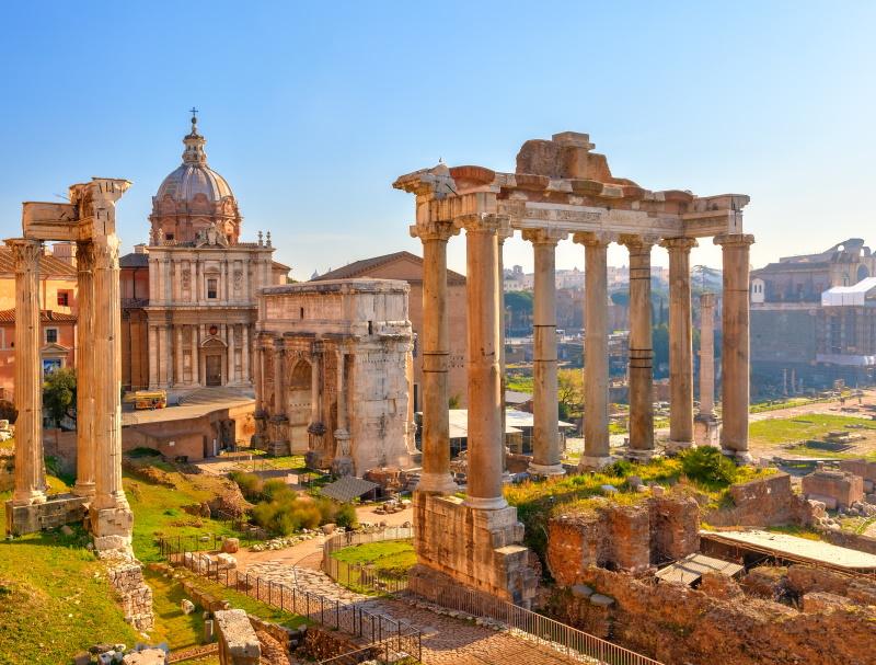 Rome and Umbria