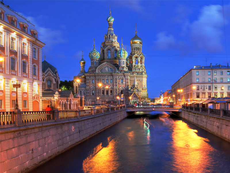 St Petersburg Cruise from Rosyth