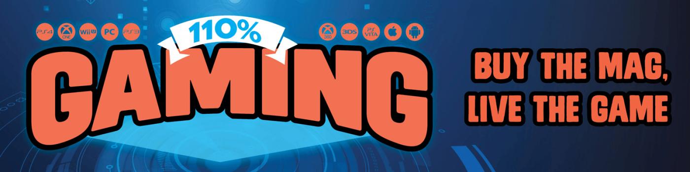 110% Gaming Banner Image