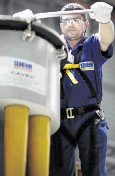 ORDER BOOM: Weir's oil and gas arm specialises in well pumps and flow-control equipment
