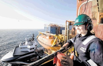 North Sea jobs