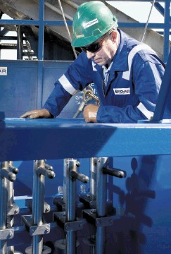 SPECIALIST SERVICES: Romar  operates  magnetic separation technology