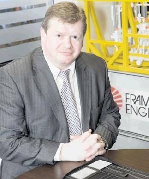 Tony Laing, general manager of Framo Engineering UK