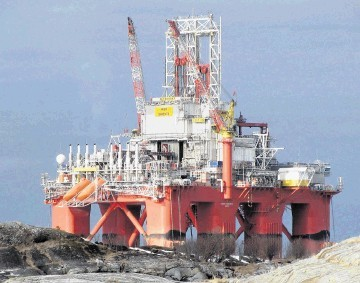 MASSIVE BEAST: The sixth generation semisubmersible rig Aker Barents