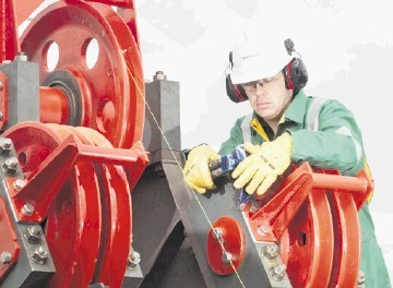 IN DEMAND: Sparrows provides offshore lifting services and employs about 1,600 people across 16 bases worldwide