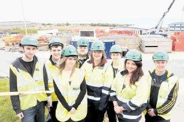 ASCO has recently introduced eight new apprentices to its UK business. Left to right are: Iain Edwards, Alex McGregor, Gemma Lawson, Scott Partington, Caryn Bennett, Brandon McBain, Naomi Ballantyne and Adam Watt