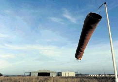 The wind  turbines will be sited near Longside Airfield