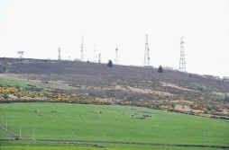 Mormond Hill is at the centre of a windfarm controversy