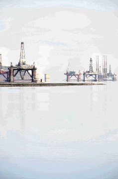 KEY AREA: HIE says the inner Moray Firth – including the Cromarty Firth fabrication yards – employs 3,200-plus people