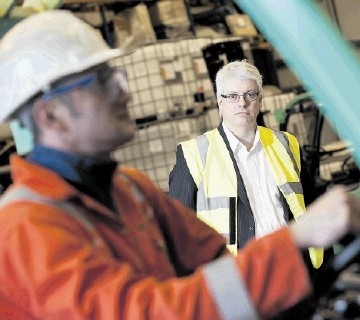EXPANSION: Aubin managing director Paddy Collins at the company's Ellon base