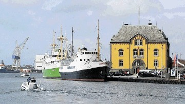 Aberdeen and Stavanger, pictured, have grown and developed to support their offshore industries