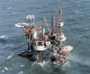 STALWART: Ensco 100 is a North Sea regular