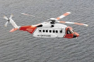 Oil rig worker flown back to Shetland in coastguard helicopter after crushing hand