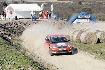 ALL REVVED UP: The Granite City Rally may have to relocate due to a planned windfarm at  Fetteresso Forest