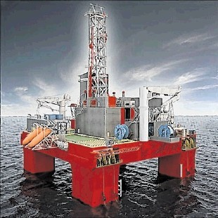 "DRIVING CHANGE: Statoil has ordered a new type of drilling rig for the North Sea known as the ""Category B"""