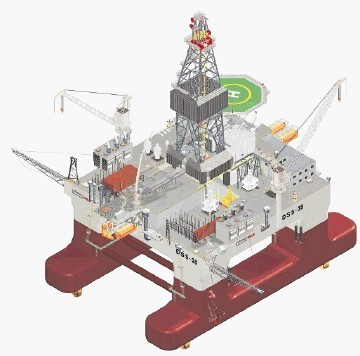 Keppel's DSS38 class rig of which modified versions may be built for Brazil
