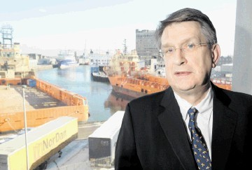 Oil and Gas UK's chief executive Malcolm Webb