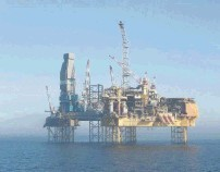 """The Total Elgin platform 150 miles off Aberdeen no longer  leaks gas  after a 12-hour """"top kill""""  process"""