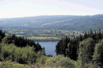 CONCERNS: Plans for a large windfarm on hills overlooking Loch Ness have been criticised