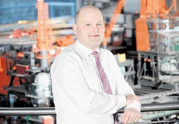 """UPBEAT: James Paton . . . """"The market conditions in the oil and gas industry right now are extremely positive"""""""