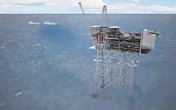 £18BILLION INVESTMENT: The Statoil planned development concept for the Mariner field