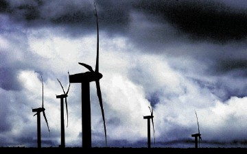 POWER STRUGGLE: Backers say turbines are vital to achieving targets – and opponents that they do too little