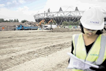 PRESTIGIOUS: W.S. Atkins has been involved in designing the London 2012 Olympic site