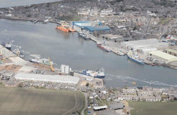 The port of Montrose