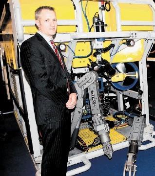 Subsea development engineer  Darren Brown