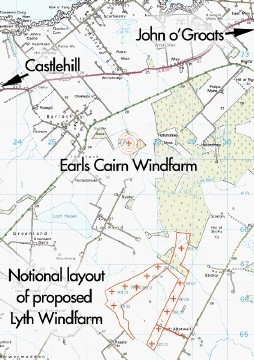CONCERN: Stuart Young's view of the  Lyth and Earl's Cairn  Windfarm  proposal