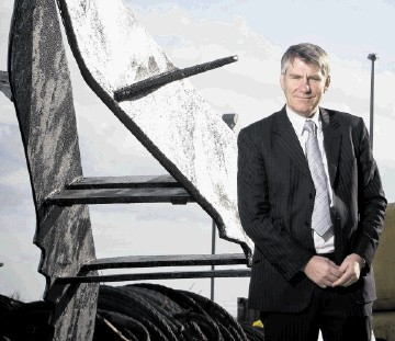 BUOYANT: Bill Bayliss . . .  looking forward to celebrating a string of  achievements in his first year in the job