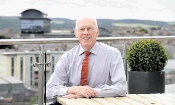 Sir Ian Wood: medal