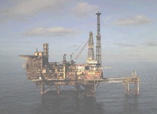 Repsol Sinopec's Fulmar platform