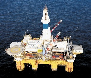WORKHORSE: Semi-submersible rig Polar Pioneer