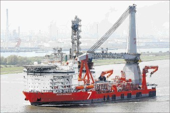 Subsea 7's new flagship Seven Borealis