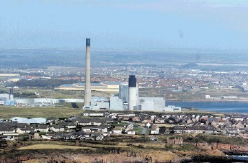 Peterhead Power Station backed by BP and Shell was a front runner of the original project.