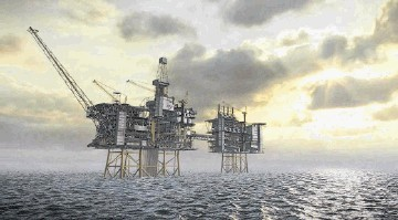 Politicians have been debating the future of North Sea oil