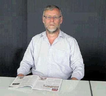 Senior design engineer Paul Sergeant