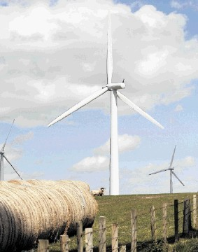 CONTROVERSY: Fears have been raised about the proposed windfarm's impact on the landscape and skyline