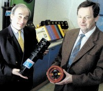 Founders Richard Marsh, left, and Dick Wright